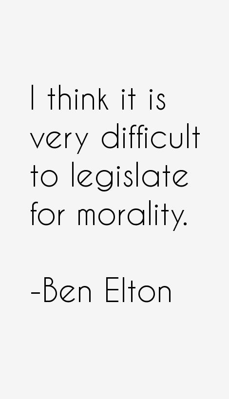 Ben Elton Quotes
