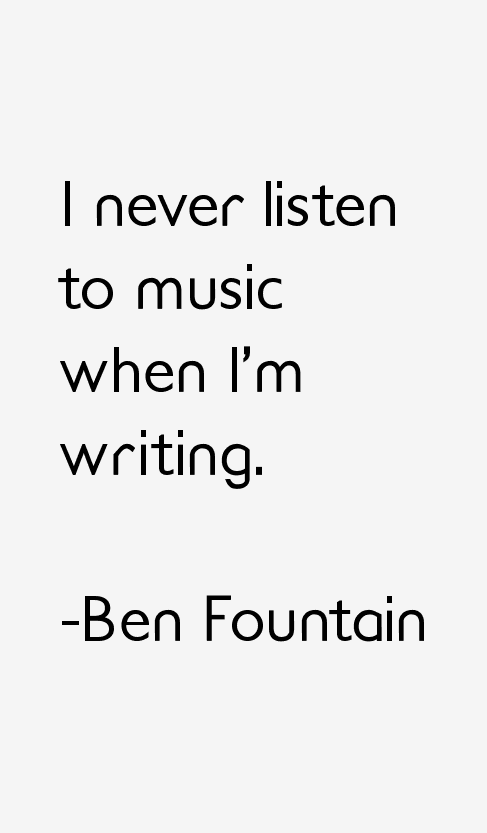 Ben Fountain Quotes