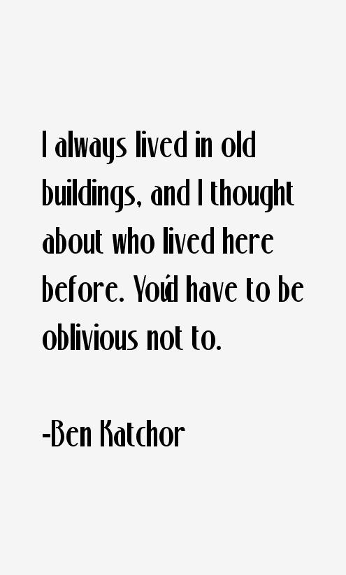 Ben Katchor Quotes