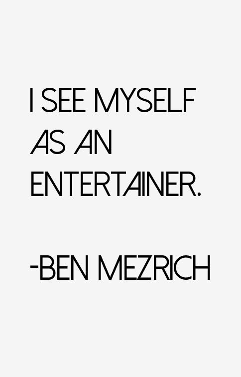 Ben Mezrich Quotes