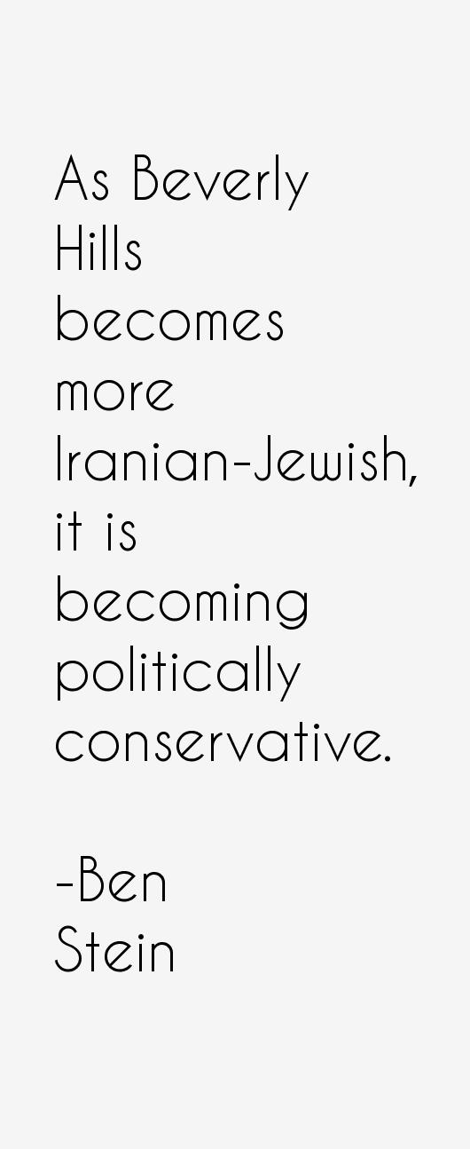 Ben Stein Quotes