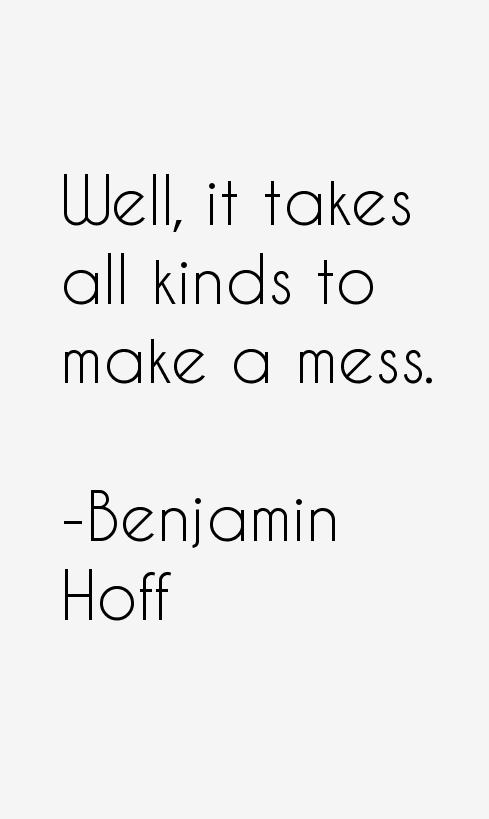 Benjamin Hoff Quotes