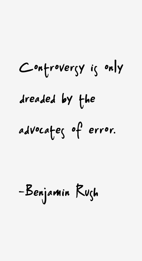 Benjamin Rush Quotes