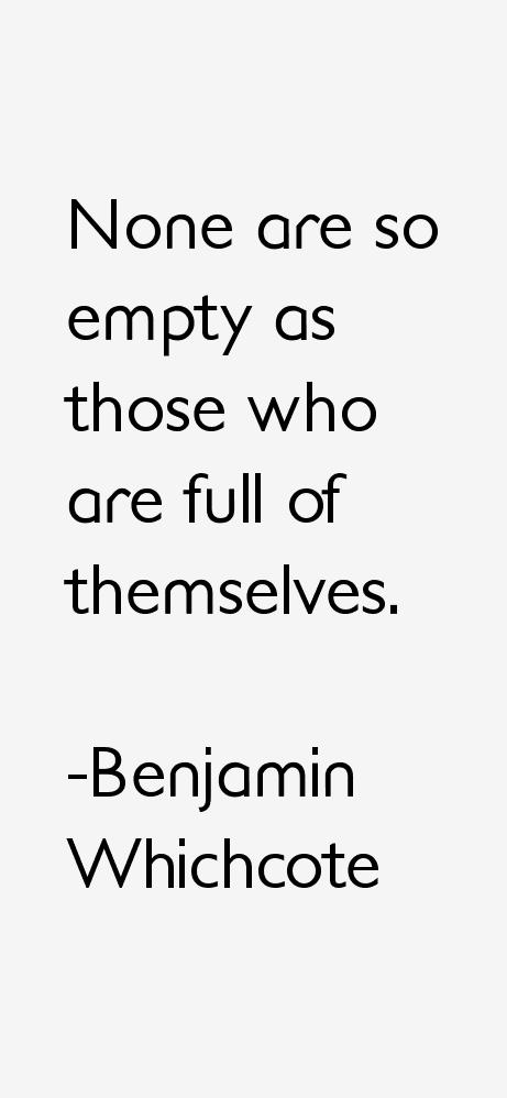 Benjamin Whichcote Quotes