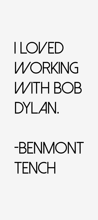 Benmont Tench Quotes