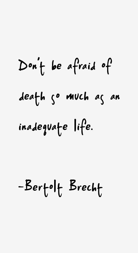 Bertolt Brecht Quotes Sayings Page 3