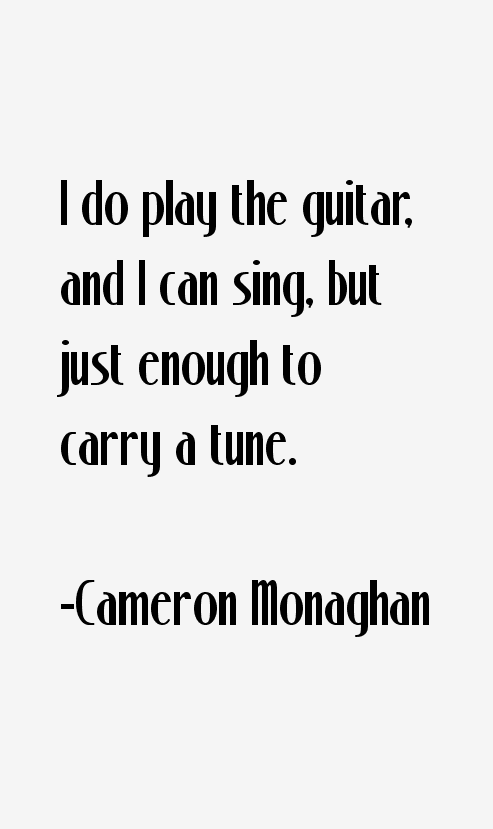 Cameron Monaghan Quotes