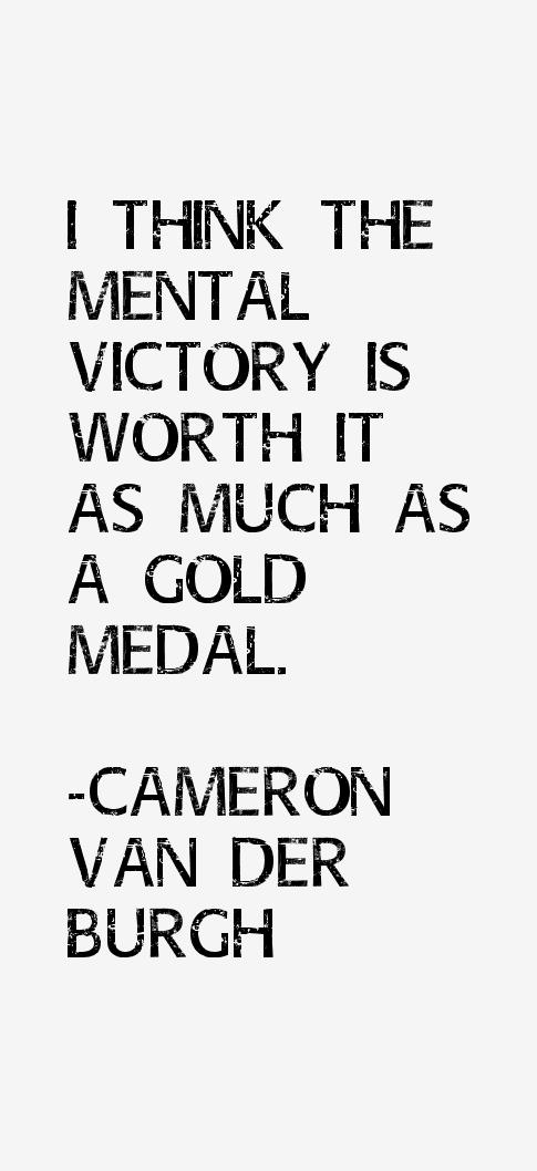 Cameron van der Burgh Quotes