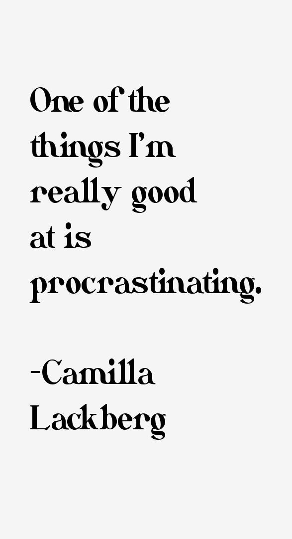 Camilla Lackberg Quotes
