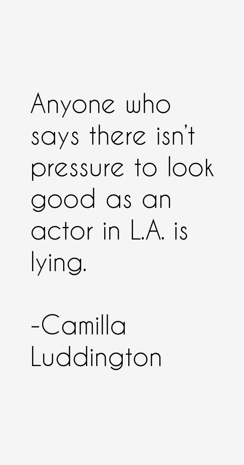 Camilla Luddington Quotes