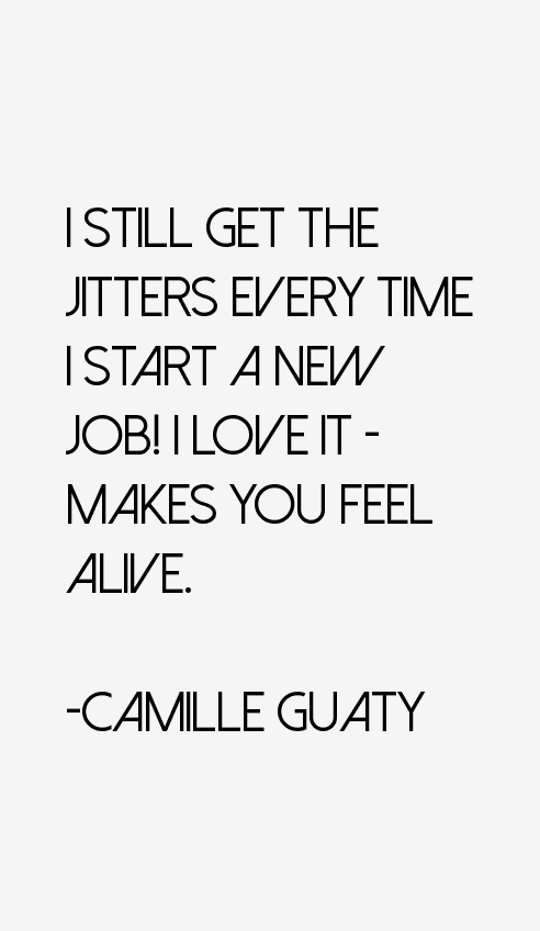 Camille Guaty Quotes