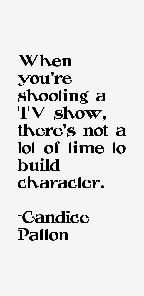 Candice Patton Quotes