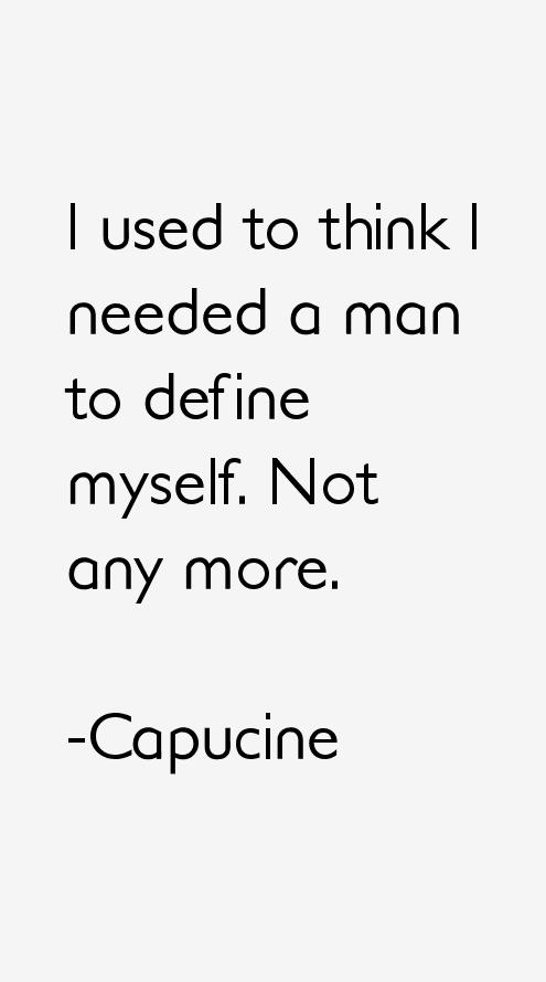 Capucine Quotes