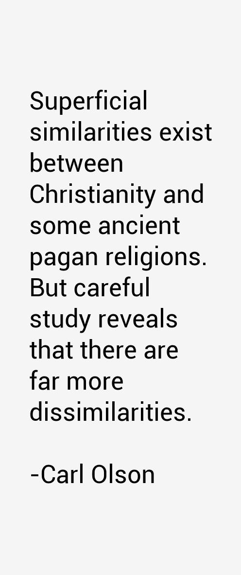 Carl Olson Quotes