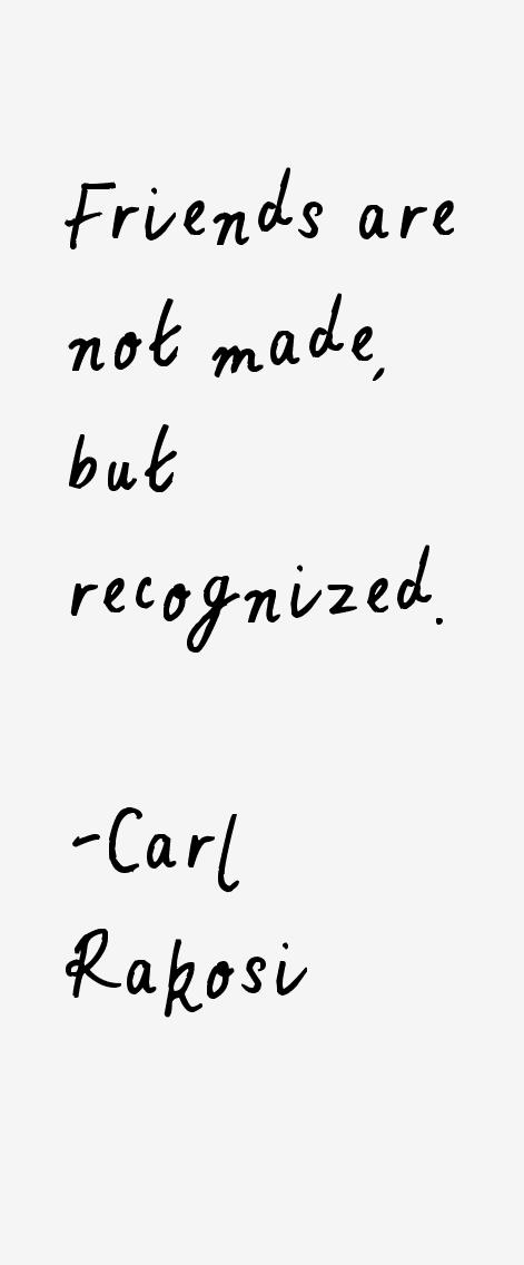 Carl Rakosi Quotes