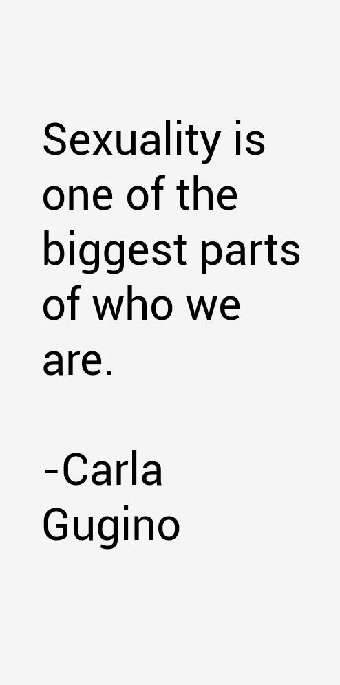 Carla Gugino Quotes