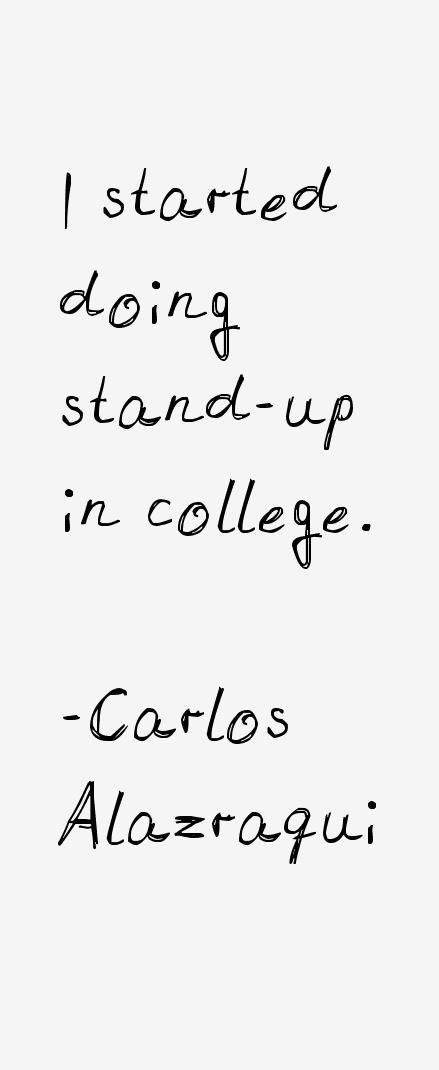 Carlos Alazraqui Quotes
