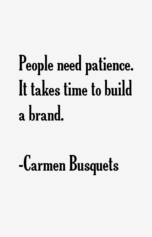 Carmen Busquets Quotes