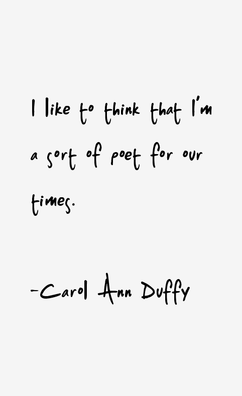 carol anne duffy poems Looks at form, structure, language, themes and layout.