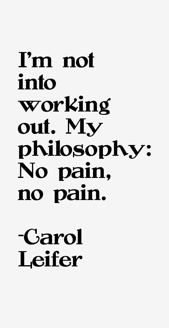 Carol Leifer Quotes