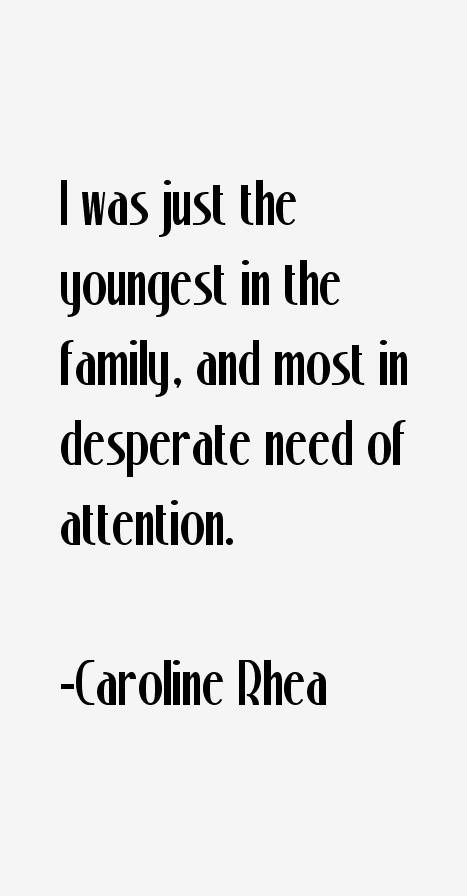 Caroline Rhea Quotes