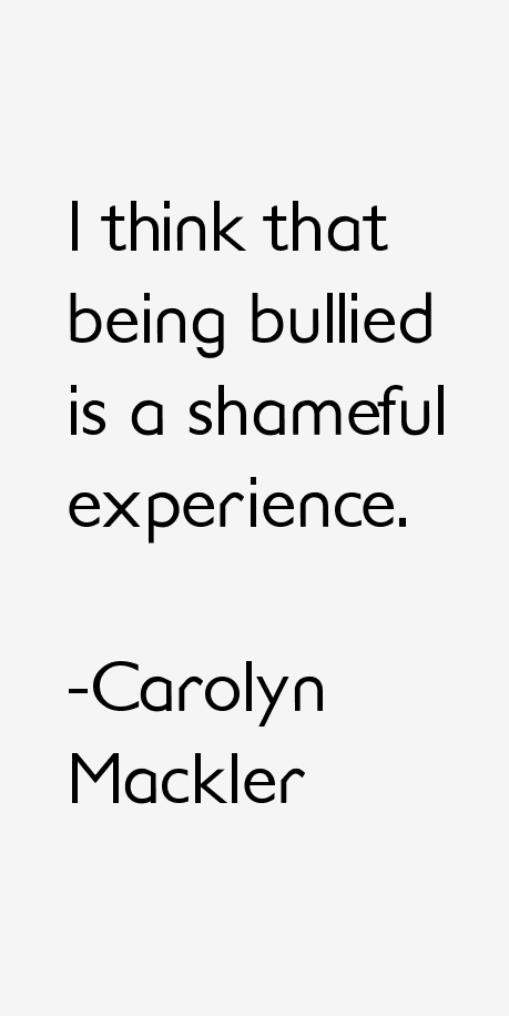 Carolyn Mackler Quotes
