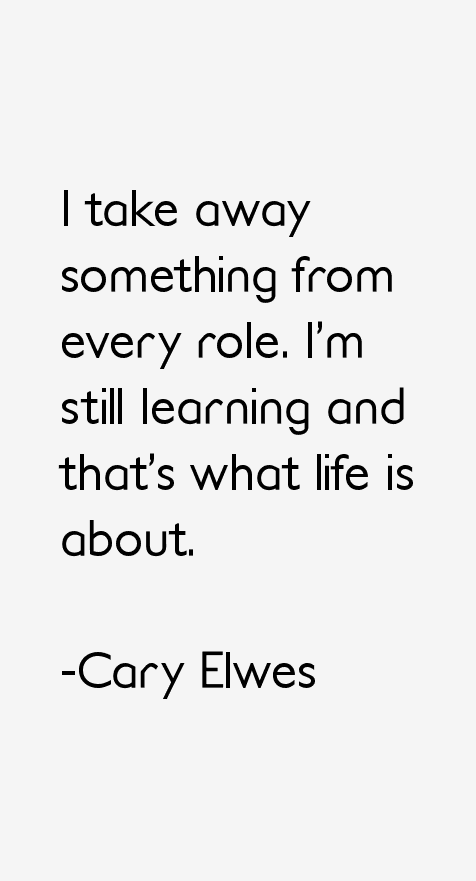 Cary Elwes Quotes