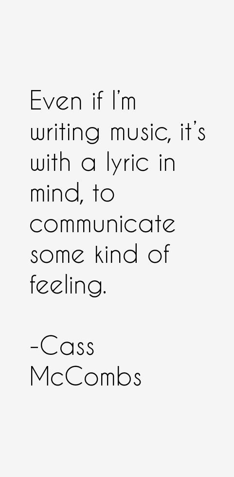 Cass McCombs Quotes