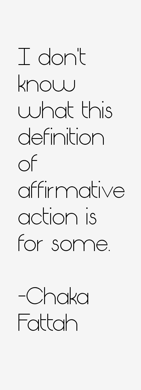a description of what affirmative action truly means Affirmative action in the united states is a set of laws, policies, guidelines, and  administrative  their adapted definition of affirmative action and became the  official policy of the us  he claims that the supposed beneficiaries of  affirmative action – minorities – do not actually benefit and rather are harmed by  the policy.