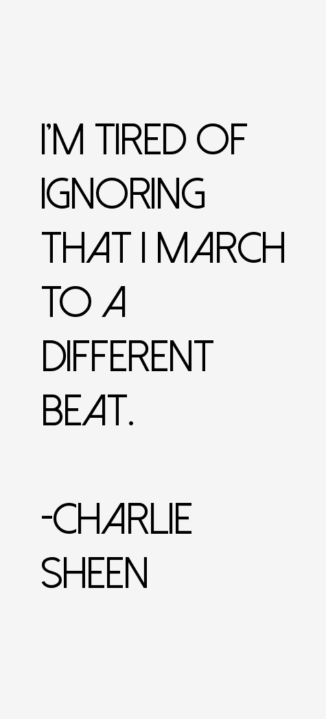Charlie Sheen Quotes