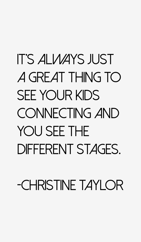 Christine Taylor Succeed