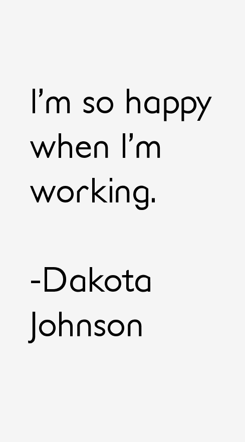 Dakota Johnson Quotes