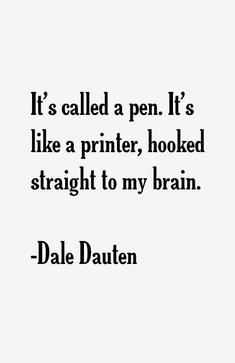 Dale Dauten Quotes