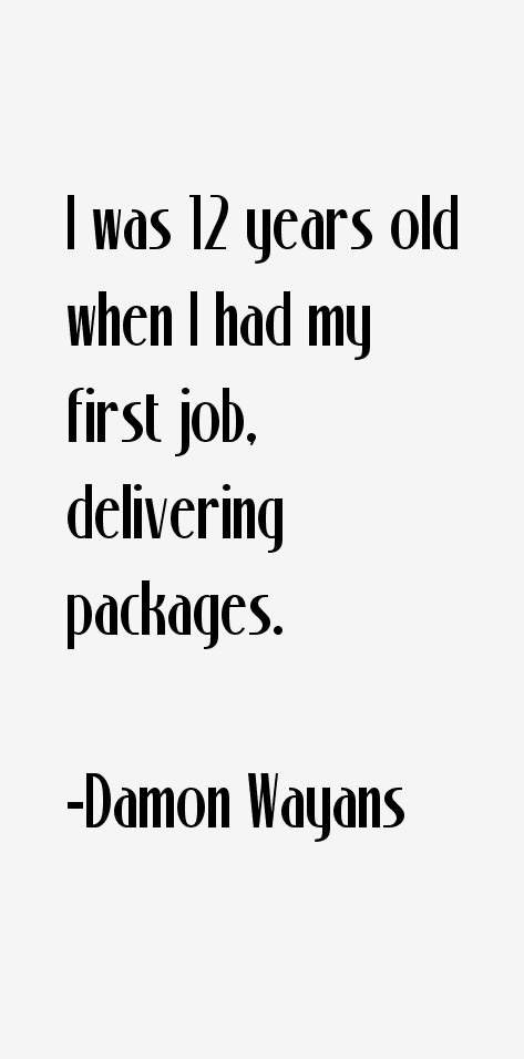 Damon Wayans Quotes