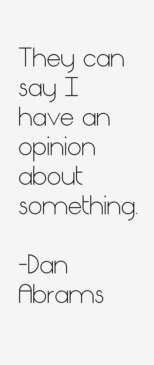 Dan Abrams Quotes