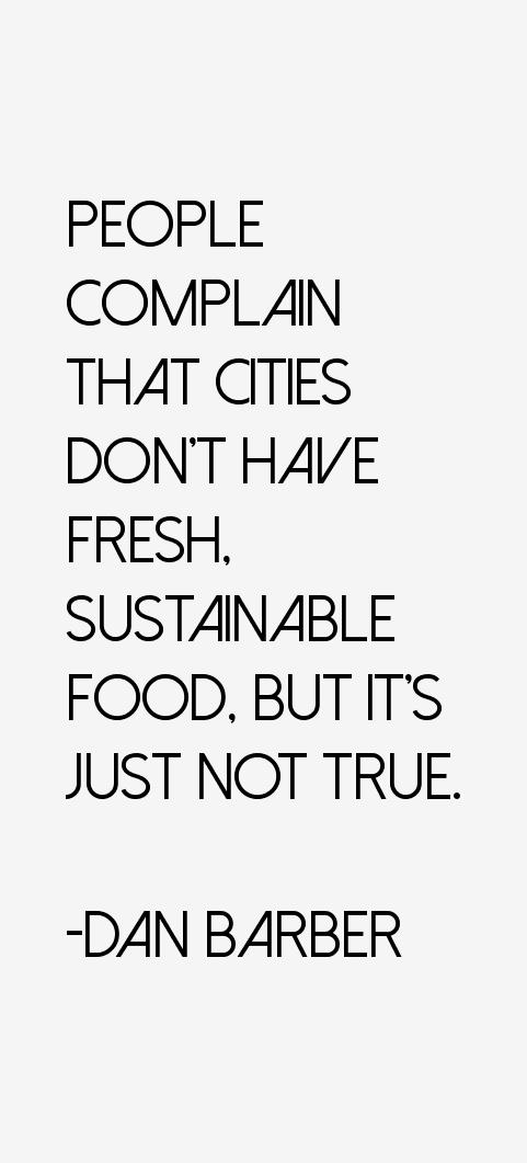 Dan Barber Quotes