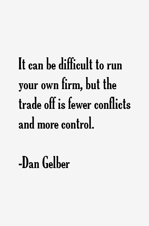 Dan Gelber Quotes