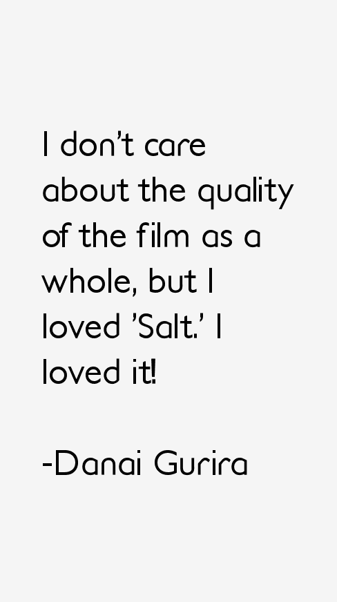 Danai Gurira Quotes
