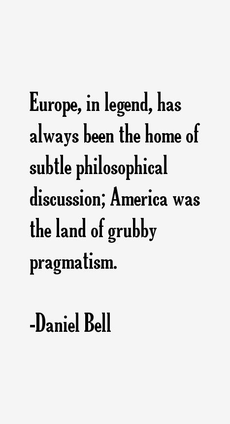 Daniel Bell Quotes
