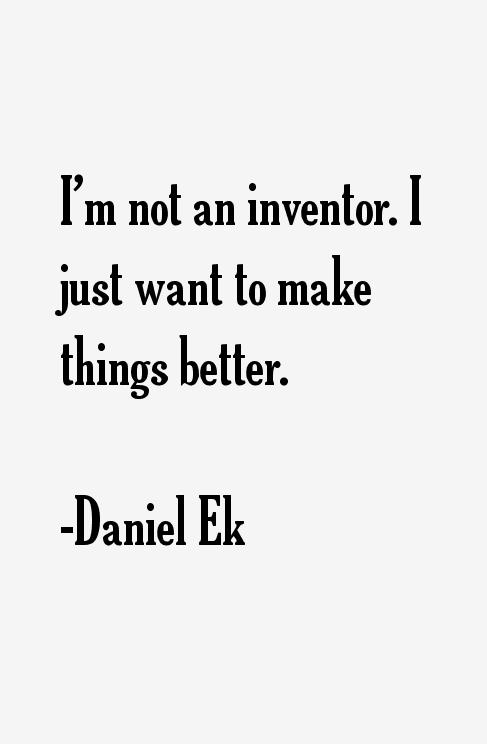 Daniel Ek Quotes