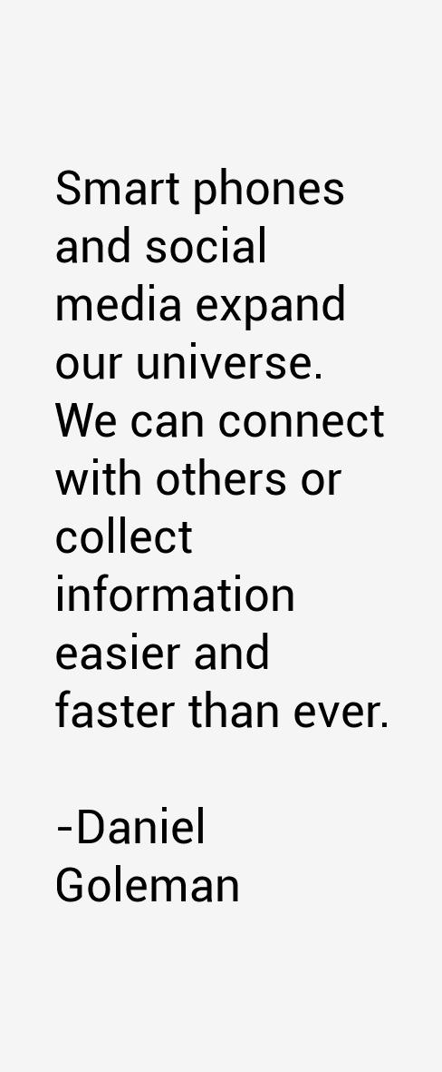 Daniel Goleman Quotes