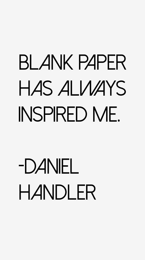 Daniel Handler Quotes