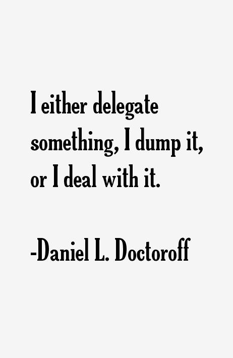 Daniel L. Doctoroff Quotes
