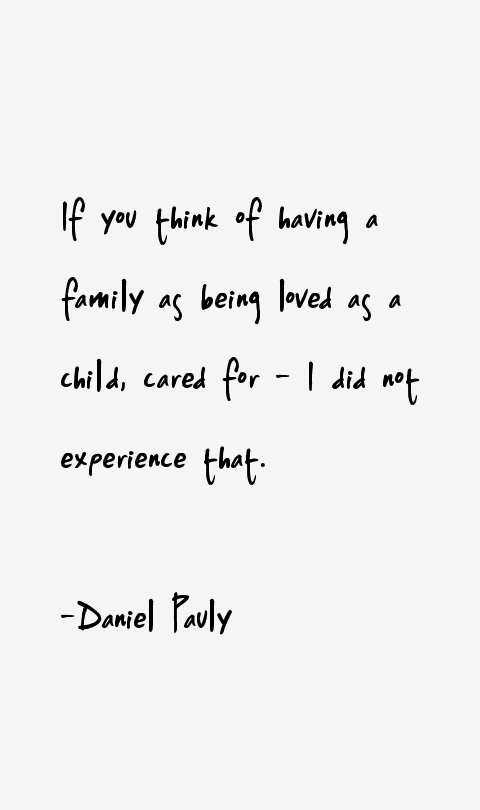 Daniel Pauly Quotes