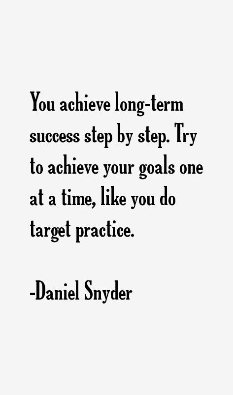Daniel Snyder Quotes