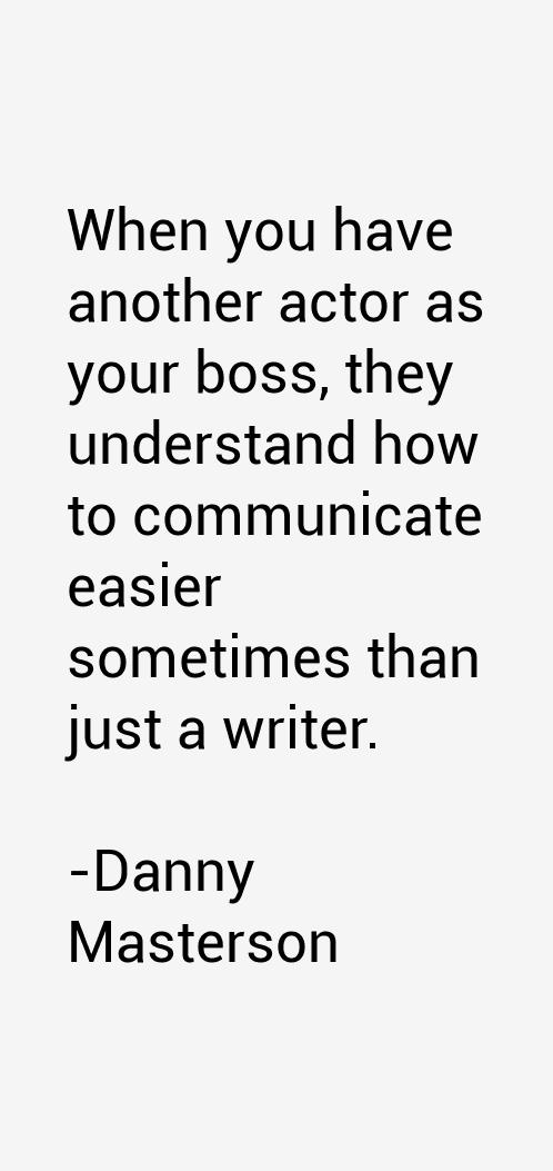 Danny Masterson Quotes