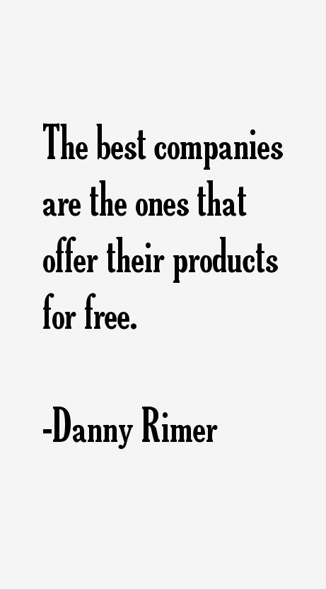 Danny Rimer Quotes