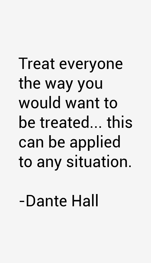 Dante Hall Quotes