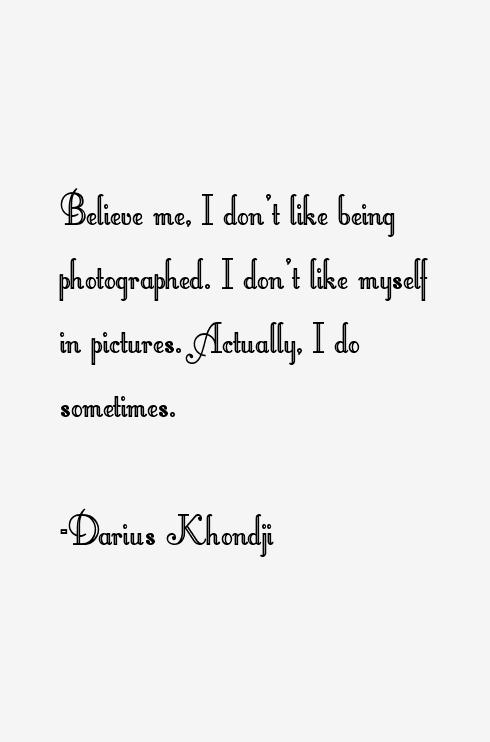 Darius Khondji Quotes