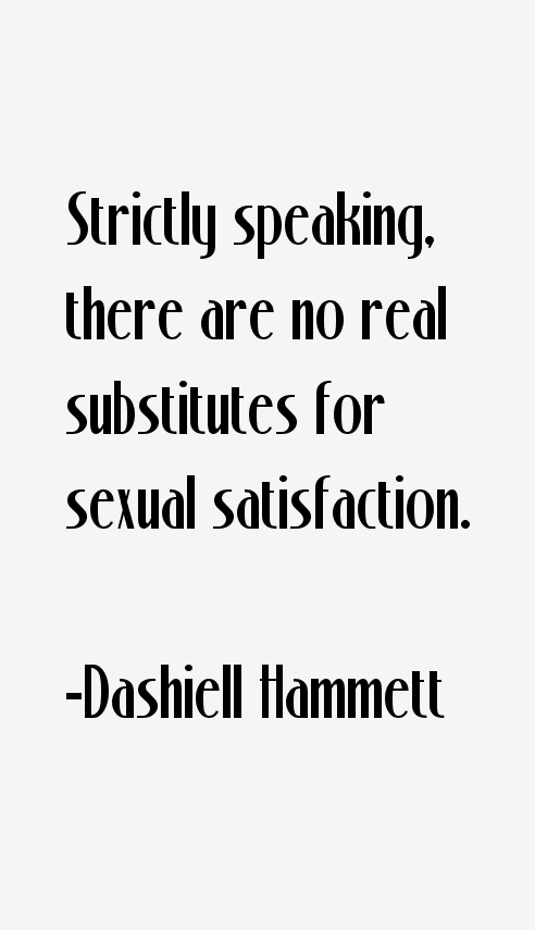 Dashiell Hammett Quotes